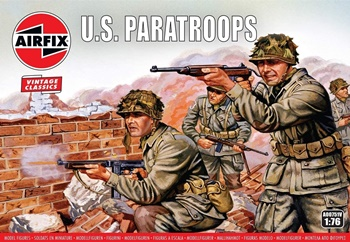 U.S. Paratroops. Escala 1/72.
