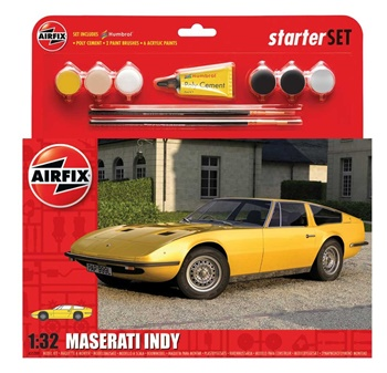Maserati Indy. Kit de plástico escala 1/32.