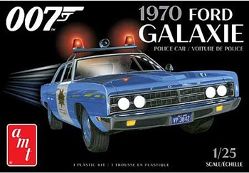 1970 Ford Galaxie Police car.