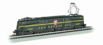 Locomotora GG1 PRR #4807.