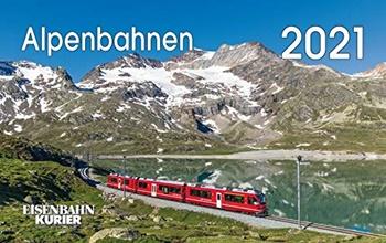 Calendario 2021 Alpenbahnen.