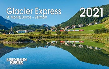 Calendario 2021 Glacier Express.
