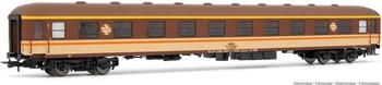 Coche RENFE AA 8000 Estrella. Envejecido