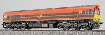 Locomotora Diesel 561-05 C66, época VI.