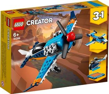CREATOR: Avión hélice.