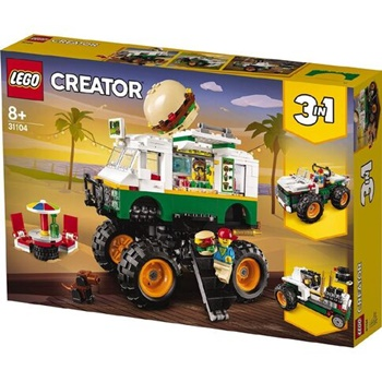 LEGO CREATOR: Camión hamburguesa.