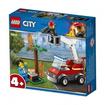 CITY: Incendio barbacoa.