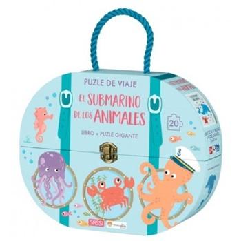 El submarino de los animales. Libro + puzle.