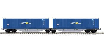 Set dos plataformas contenedores UNIT 45.