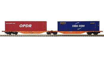 Set dos plataformas contenedores OPDR-CMA.