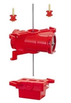 Motor para desvios Twistlock con microinterruptor doble