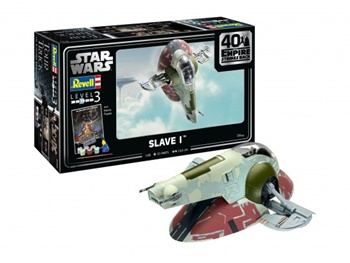 SLAVE I. Kit escala 1/88.