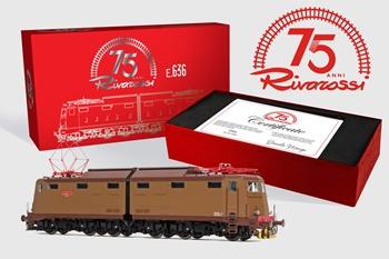 Locomotora eléctrica FS E636, época IV-V.