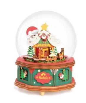 Caja de música Navidad