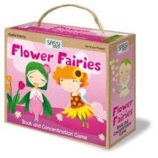 Las haditas de las flores. Librito y juego de memoria.