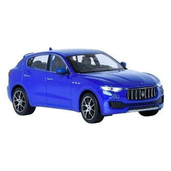 Maserati Levante color azul.