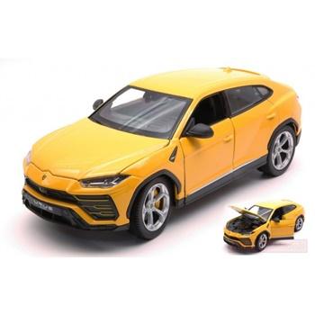 Lamborghini Urus color amarillo.