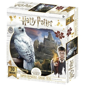 Harry Potter: Hedwig, 500 piezas.