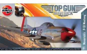 TOP GUN Maverick's P-51Mustang.