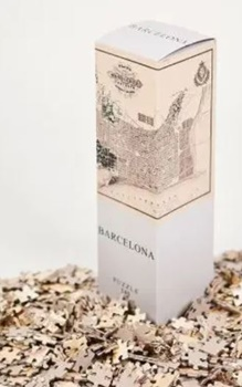 Barcelona, puzzle 540 piezas. Medida: 50x35cm.