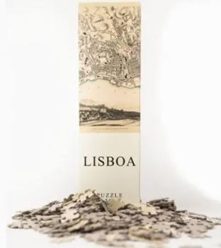LISBOA, puzzle 540 piezas. Medida: 50x35cm.