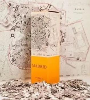 Madrid, puzzle 540 piezas. Medida: 50x35cm.