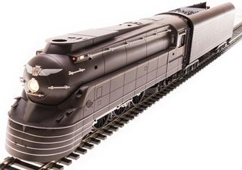 Locomotora de Vapor PRR K4S STREAMLINED 3768. Digital con Sonido.