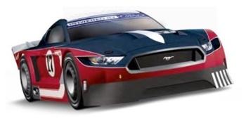 Ford Mustang GTY Nº17.