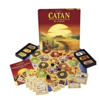 CATAN. Coloniza, comercia y construye. Castellano.