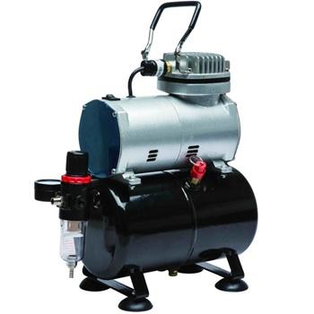 Compresor con calderín y manómetro D-80.