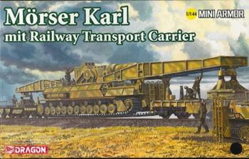 Morser Karl. Escala 1/144
