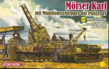 Morser Karl. Escala 1/144.