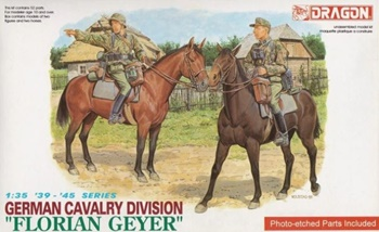 German cavalry division Florian Geyer, escala 1/35.