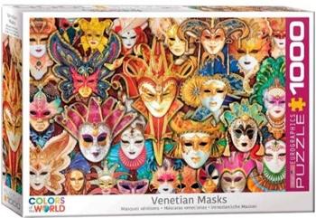 Máscaras venecianas.