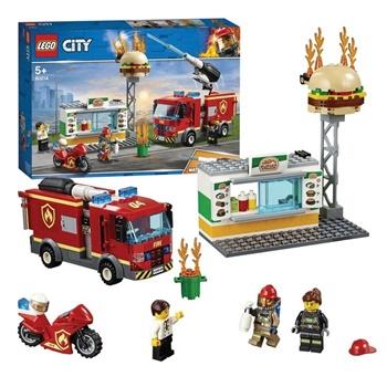 CITY: Rescate incendio Burguer City.