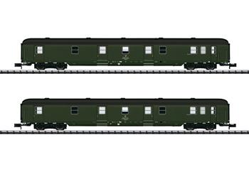 Set de dos vagones GEX, época IV.