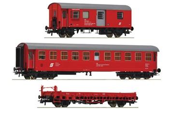 Tren para el mantenimiento de vías de los FFCC federales austríacos.