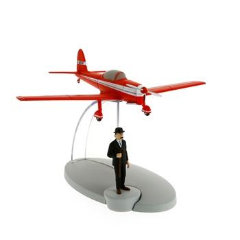 Avión rojo de la ILLE NOIRE.