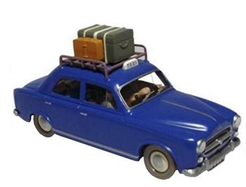 Coche Taxi Moulinsart.
