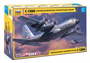 American heavy transport plane C-130H. Escala 1/72.