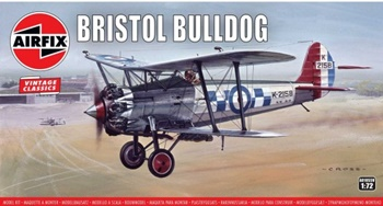 Bristol Bulldog. Kit escala 1/72.