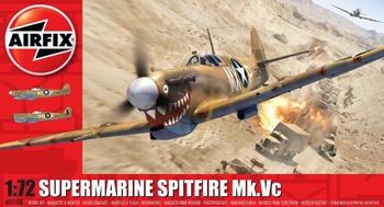 Supermarine Spitfire Mk. Vc. Escala 1/72.