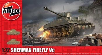 Sherman firefly Vc. Kit plástico escala 1/72.