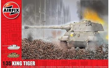 King Tiger. Kit escala 1/35.
