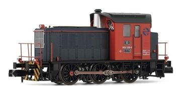 Locomotora Diesel RENFE 303.139. Envejecido a mano.