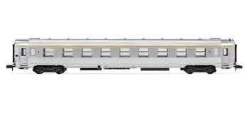 Coche pasajeros SNCF DEV Inox 1º clase.