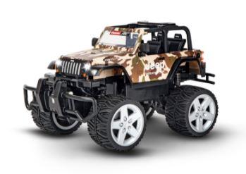 Jeep de camuflaje, oche radiocontrol escala 1/16.