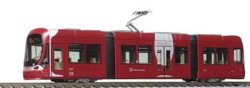 Set de 2 tranvías Hiroden 1000 LRV. Escala n.