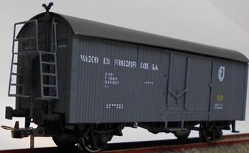Vagón frigorifico PN-17192 en color gris.