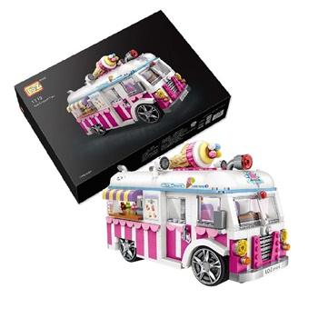 Caravana de helado, 1244 piezas.